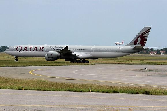A7-AGC - Airbus A340-600