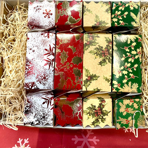 8x 5cl Christmas Gin Crackers