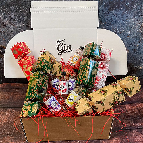 6x 5cl Christmas Gin Crackers