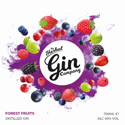 Forest Fruits Gin 70cl