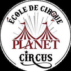 logo de l'école de cirque Planet Circus