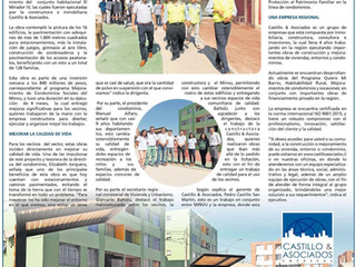 Inauguramos obras de Mejoramiento del Conjunto Habitacional Mirador IV