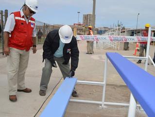 Alcalde de Arica visita nuestras Obras.