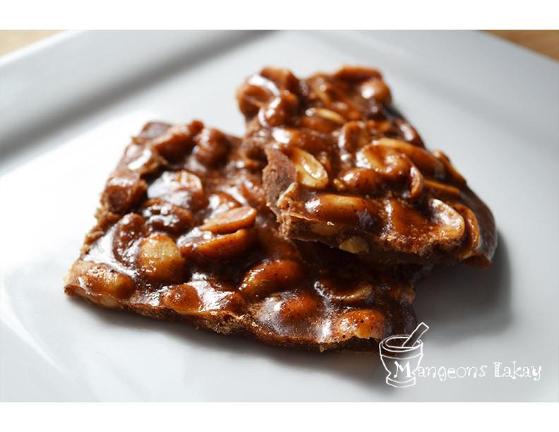 Peanut brittle (Tablet pistach)
