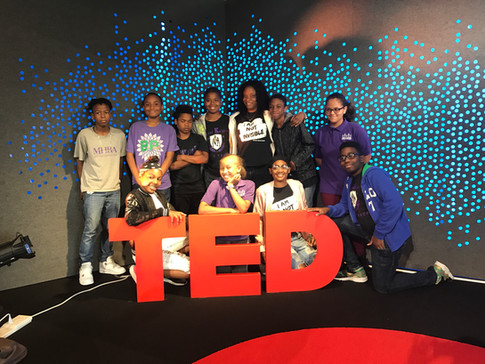 Scholars at TED headquarters. One of the schools many partenerships