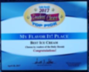 Best Ice Cream Daily Herald