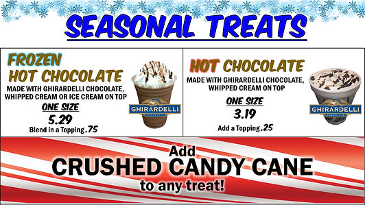 Menu 3 2020 Winter Seasonal Treats candy