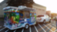 Outside event, catering, shaved ice, ice cream, shave ice, tent, food truck, foodtruck, my flavor it place, party, dessert, birthday, school