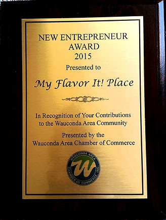 Wauconda Chamber New Entrepreneur