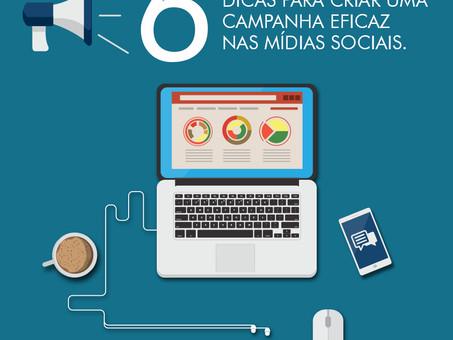 Seis dicas para criar uma campanha eficaz nas mídias sociais
