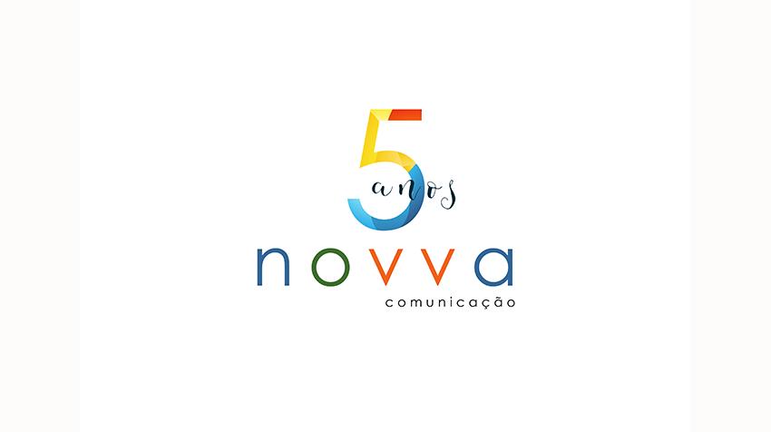 5 anos novva comunicação