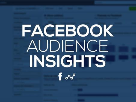 Conheça sua audiência com o Audience Insights do Facebook e melhore os resultados das suas campanhas