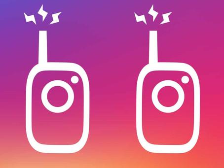 Atualização do Instagram libera ferramenta de áudio no Direct