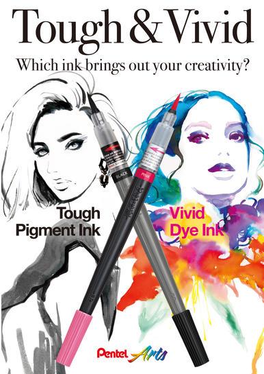 Pentel Colour Brush Catalog