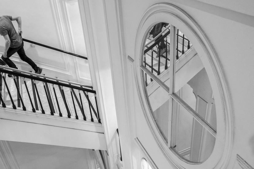 Upstairs-downstairs at Albertina