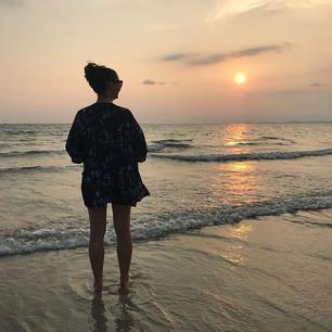 Sunset in Sihanoukville @thekindnesskimo
