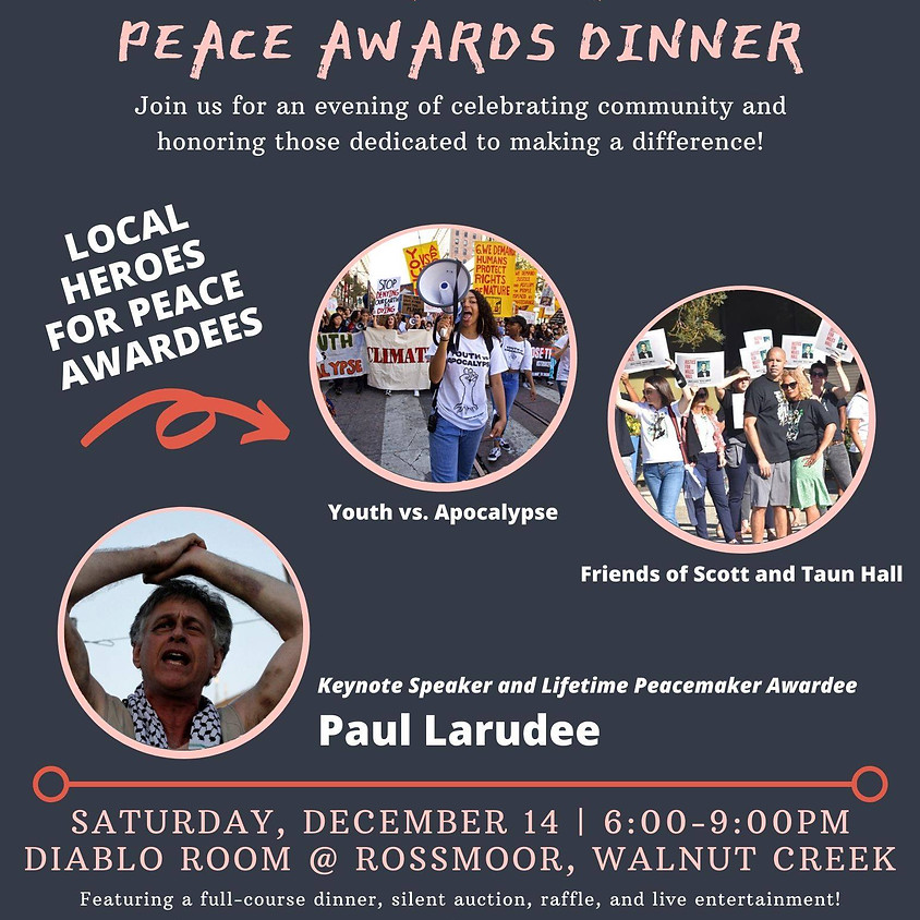 11th Annual Peace & Justice Awards Dinner
