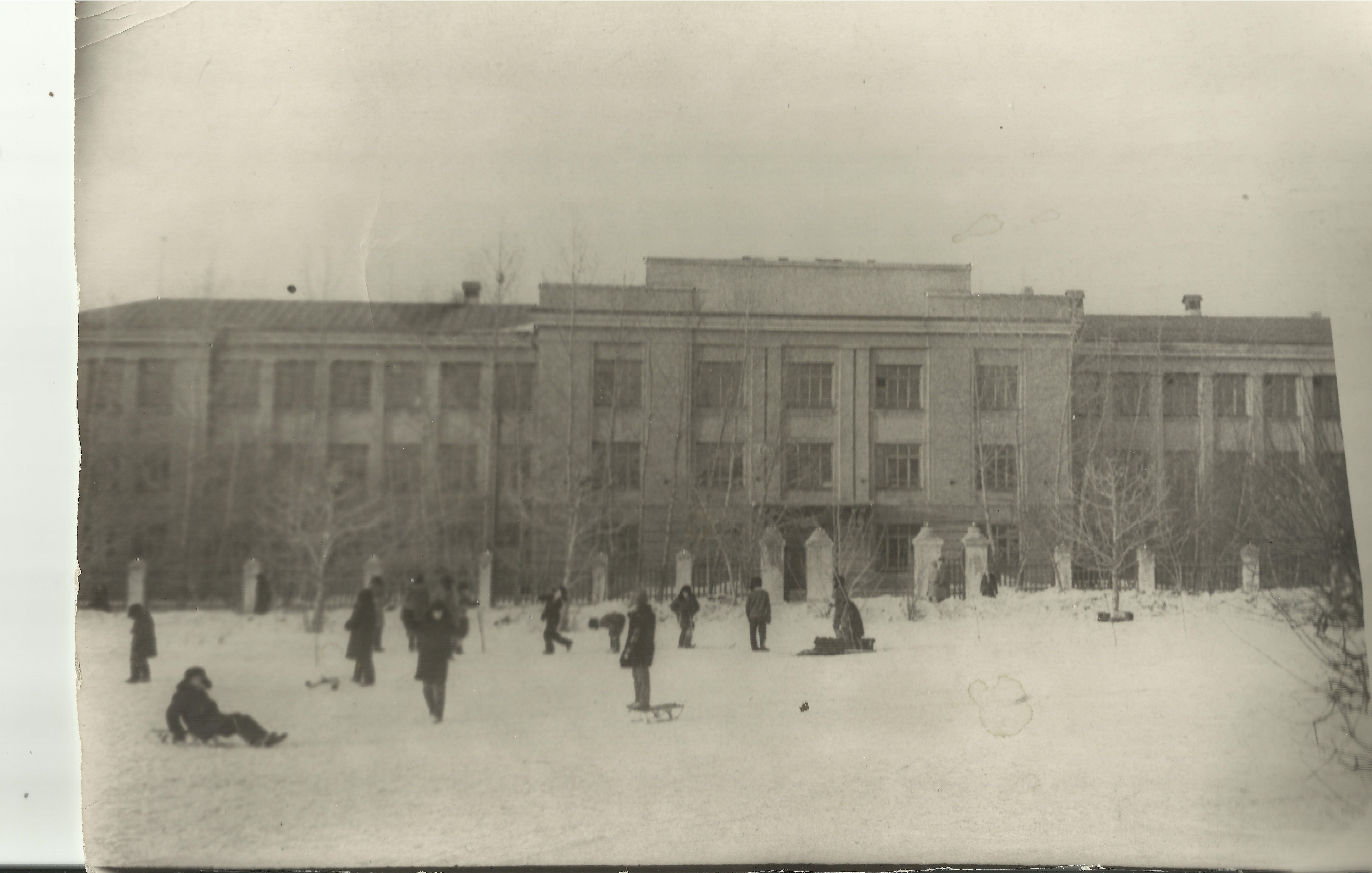 школа -февраль 1967г