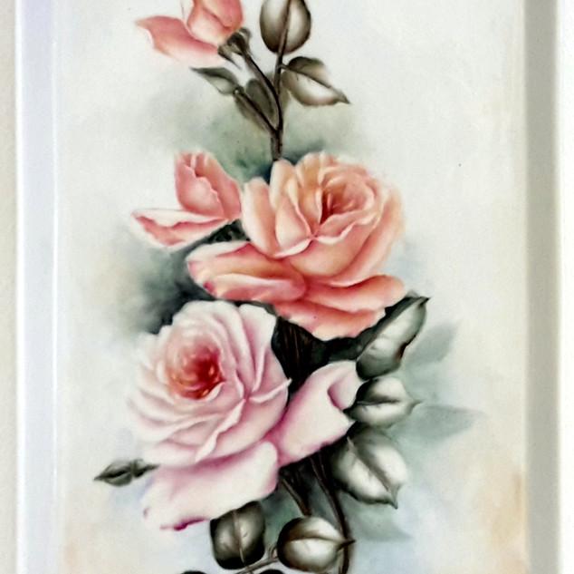 Rózsás tál