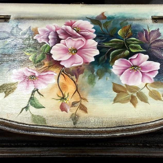 Clematis virágok  Genesis