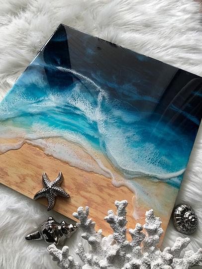Resin art Ocean