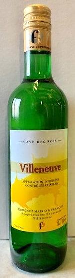 Villeneuve 50cl (2020) sans millésime sur étiquette