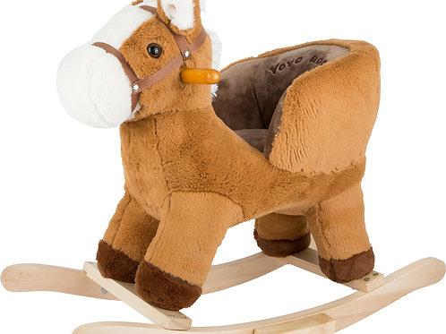 cheval à bascule, cheval à bascule avec siège, small foot, jouet en bois, jouets en bois, jouets de léa