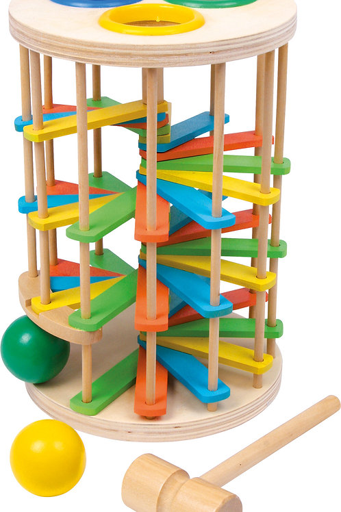 jeu à marteler, jouet en bois, jouets en bois, jouets de léa, jouets montessori, jouet montessori, jeu de billes