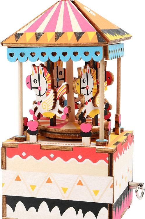 Kit de construction boîte à musique « Petit cheval »