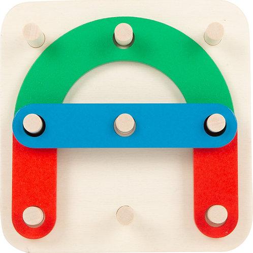 Puzzle à encastrer Lettres et Nombres, jouet éducatif, jouet en bois, jouets en bois, jouets de léa