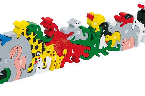 jouet montessori, puzzle en bois, puzzle lettres et nombres, jouets en bois, jouet en bois, jouets de léa