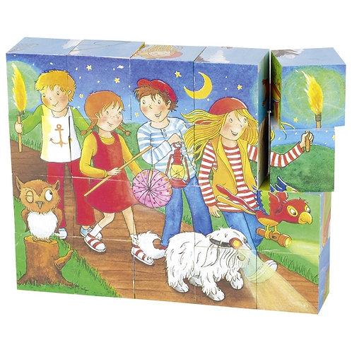 Puzzle 20 cubes.