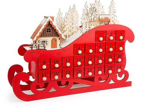 calendrier de l'avent, décoration, décoration de noël, jouets en bois, jouets de léa