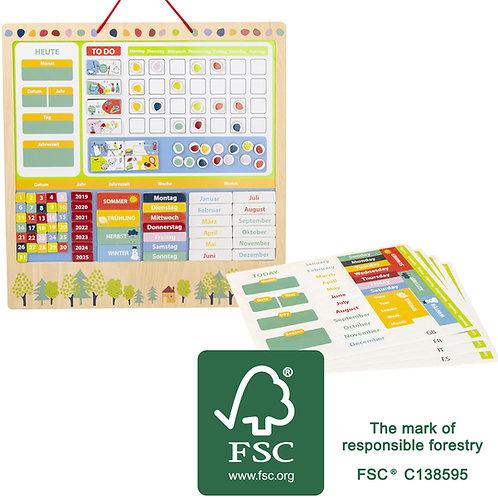 calendrier éducatif, jouet en bois, jouets en bois, jouets de léa, jouet montessori, jouets montessori
