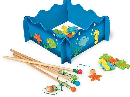 pêche à la ligne, jouet en bois, jouets en bois, jouets de léa, jouet montessori, jouets montessori