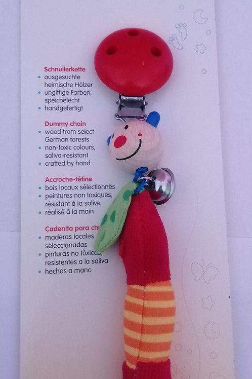 attache tétine en bois, accroche tétine en bois, heimess, jouets en bois, jouet en bois, jouets de léa