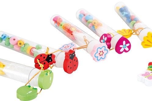 jouets kermesse, jouet en bois, jouets en bois, jouets de léa, perles à enfiler