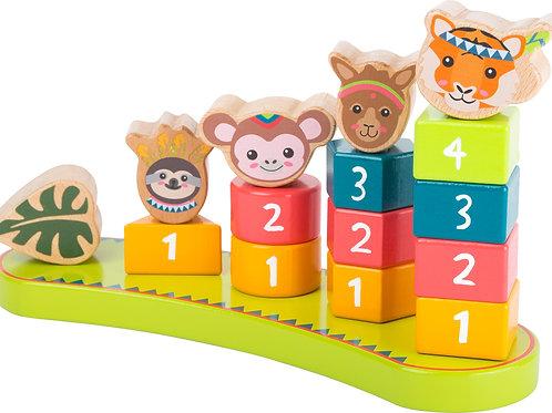jouet à emboiter, jouets montessori, jouet en bois, jouets en bois, jouets de léa