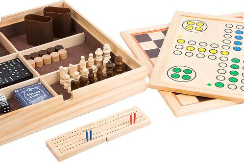 backgammon, jeu du moulin, coffret de jeux , jeu de dames, jeu d'échec, jouets en bois, jouets de léa, jouet en bois