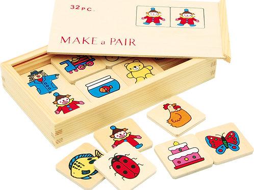 memory, jouets en bois, jouets de léa