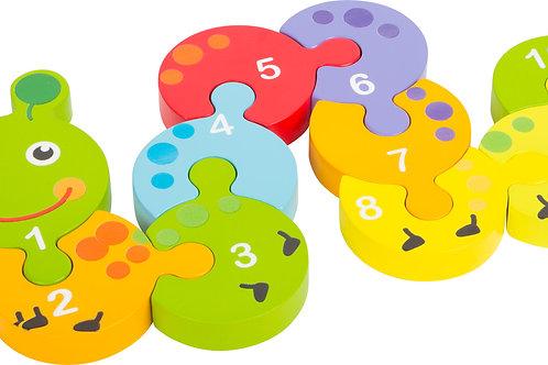 jouet montessori, puzzle en bois, puzzle chiffres, jouets en bois, jouet en bois, jouets de léa
