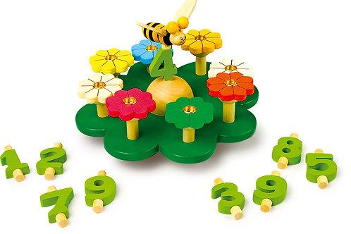 pré, anniversaire, décoration, jouets en bois, jouets de léa