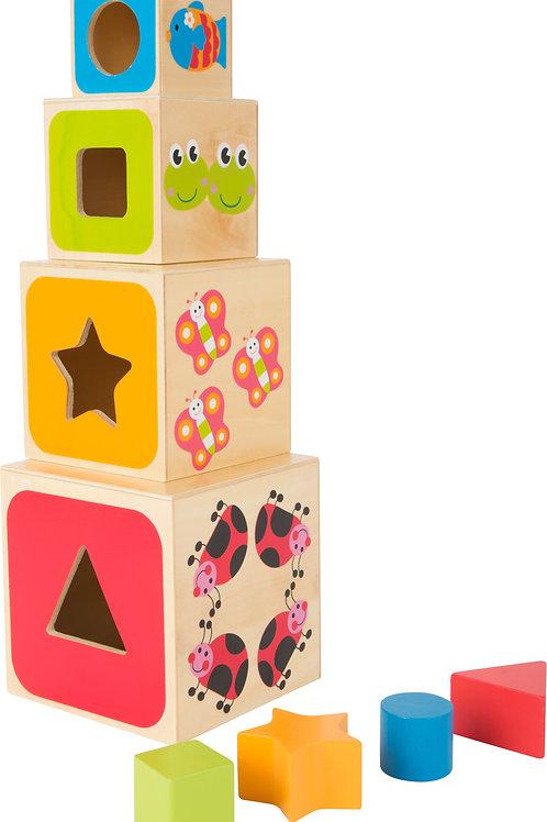 jouets en bois, jouets de léa, jouet en bois, jouets montessori, jouet montessori, cubes à empiler