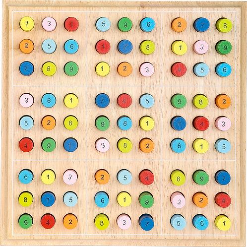 sudoku, jouet en bois, jouets en bois, jouet montessori, jouets montessori, jouets de léa