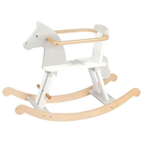 cheval à bascule en bois, jouet en bois, jouets en bois, jouets de léa, goki