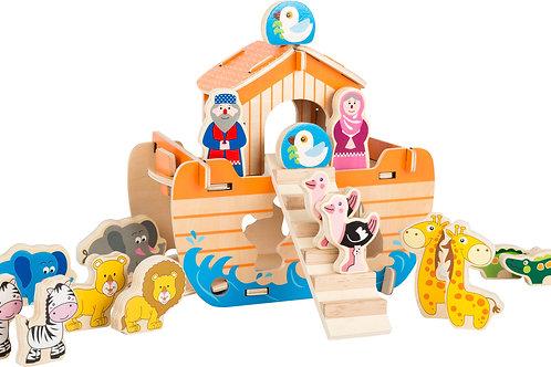 jeu de construction, arche de noé, jouet en bois, jouets en bois, jouets de léa, jouet montessori, jouets montessori