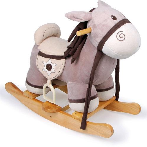 cheval à bascule, shérif à bascule, jouet en bois, jouets en bois, small foot, jouets de léa