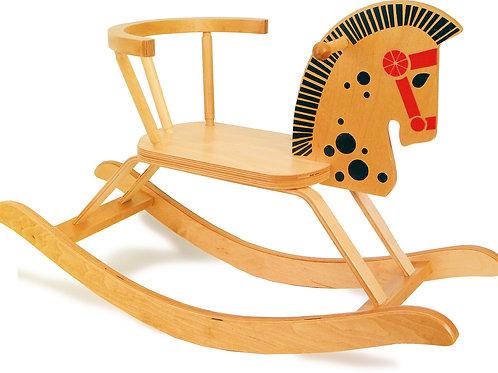 Cheval à bascule, cheval en bois, small foot, jouet en bois, jouets en bois, jouets de léa