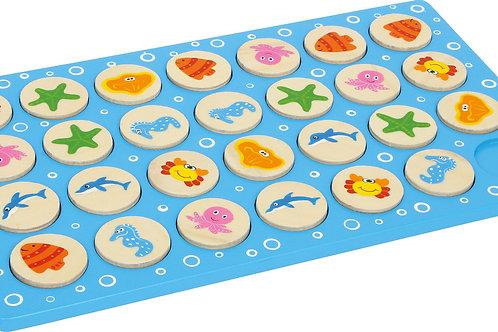 Mémo, jouet en bois, jouets en bois, jouets de léa, jouet montessori, jouets montessori