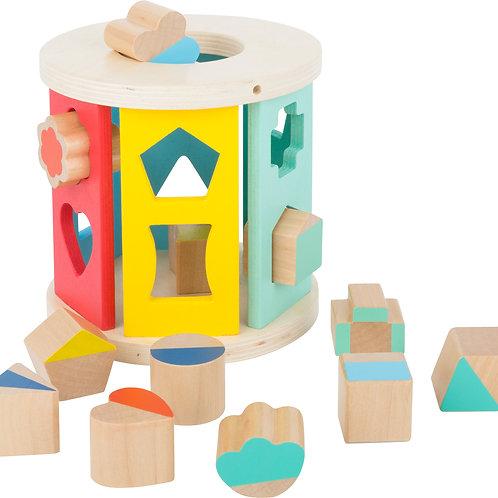formes à encastrer, jouets pour bébé, jouets en bois, jouets de léa